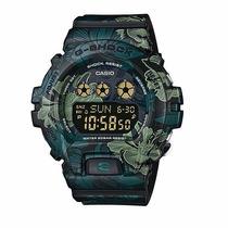 Relógio Casio G Shock Floral Gmds-6900f-1 Unissex Lançamento
