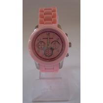 Relógio Feminino Rosa! ***modelo Novo***
