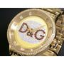 D&g Dolce & Gabbana Relogio Unissex Dw0379 Modelo Neymar!!!