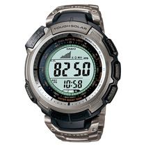 Relogio Casio Protrek Prg-110 T Bussola Barometro Titanio