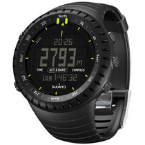 Relógio Computador Pulso Suunto Core All Black Military Novo