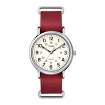 Relógio Timex Style Weekender T2p493ww/tn - Prata, Pulsei...