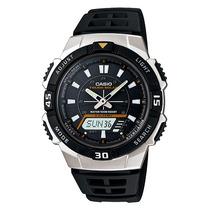 Relógio Casio Aq-s800 W-1e Tough Solar 5 Alarmes H. Mundial