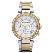 Relógio Michael Kors Mk5626 Prata E Dourado Frete Grátis.