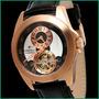 Relógio Bernoulli Automatic Rose Gold - Esqueleto- Skeleton