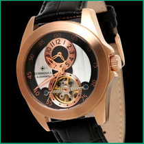 Relógio Bernoulli Automatic Rose Gold - Esqueleto- Skeleton