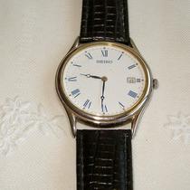Relógio De Pulso Masculino A Quartz Seiko - Colecionador!!
