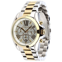Relógio Michael Kors Mk5627 Prata E Dourado À Pronta Entrega
