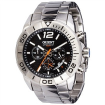 Relógio Orient Cronógrafo Mbssc025 Elegante Charmoso Lindo