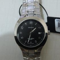 Relógio Orient Quartz Mbss1059 Leve Resistente Elegante Belo