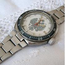 Relógio De Pulso Masculino Automático Hentyh 200 M -raro!