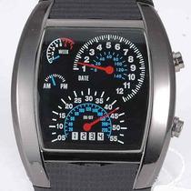 Relógio Pulso Tvg Led Matrix Azul Iluminado - R$ 35,90
