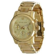Relógio Michael Kors Mk5660 Dourado E Madrepérola Com Caixa.