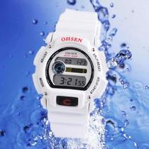 Relógio De Pulso Analógico Ohsen Feminino Branco