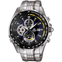 Relógio Casio Edifice Ef-543 D Seb Vettel Cronógrafo 100m Az