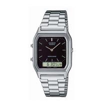 Relógio Casio Aq-230 A-1admq Anadigi Alarme Cronômetro Sn Pt