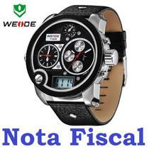 Relógio Esportivo Led Digital Analógico Weide Wh2305 Grande