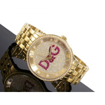 D&g Dolce & Gabbana Relogio Unissex Dw0377 Modelo Do Neymar
