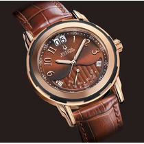 Bulova Accutron Ouro Rose 18k Executive Class De $3.990 Por