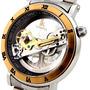 Relógio De Luxo Automático Especial - Ik Colouring Skeleton