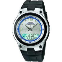 Relógio Casio Aw-82 Fishing Gear Pesca Fases Lua 3 Alarmes B