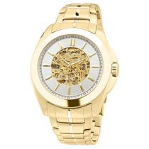 Relógio Technos Automático 8n24ae/4k - Dourado 12x Sem Juros