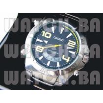 Relógio Orient Análogo Digital Mbssa040 - Novo, Original!
