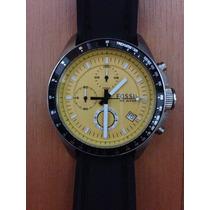 Relógio Fossil Ch-2648 Chronograph Novo Original - Troco !!!