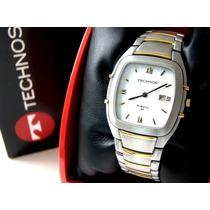 Relógio Technos St. Moritz - 9t15.ac - W.r. - Aço Original!