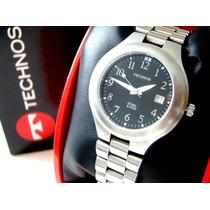 Relógio Technos Steel 50m 1m12.gh - Aço - Original!