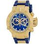 Relógio Invicta Subaqua Noma 3 Iii Azul 5515 Ouro 18k ! 50mm