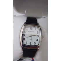 Relógio Mondaine Class Prata Pulseira Couro Preta76004g0mknh