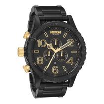 Relógio Nixon The 51-30 Chrono Matte Black/gold 12xs/juros
