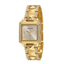 Relógio Mondaine Feminino Clássico Dourado 76299lpmfdm1