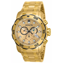 Relógio Invicta Pro Diver 80070 Dourado Masculino