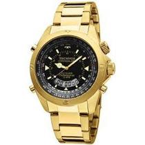 Relógio Skydiver T20565/4p Folheado A Ouro.