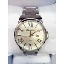 Relógio Atlantis Original Calendário Pronta Entrega