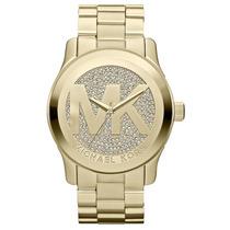 Relógio Michael Kors Mk5706 Gold Com Cristais Original