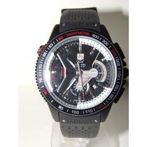 Relógio Tag Calibre 36 Grand Carrera Rs Caliper Automático