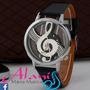 Relógio Musica Clave De Sol Black - Alanis Mania Musical