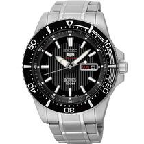 Relógio Seiko Automático Masculino Aço Sport Grande 4r36bl