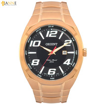 Relógio Masculino Orient Esportivo Dourado Mgss1070 P2kx