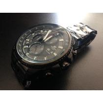 Relógio Casio Edifice 558 Black, Peça Única! Comprado Eua