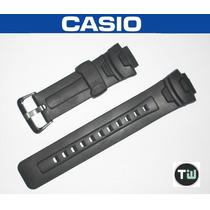 Pulseira P/ Casio G-shock G-7500 G-7510 Similar Preto