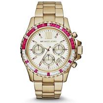 Relógio Michael Kors Mk5871 Dourado Lindo Frete Grátis.