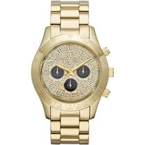 Relógio Michael Kors Mk5830 Layton Dourado Frete Grátis.