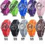 Relógios De Pulso Silicone Modelo Fx841