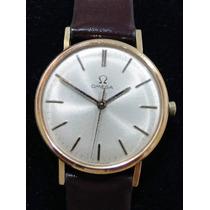 Relógio Omega À Corda Manual, Em Ouro 18k. Lindo!