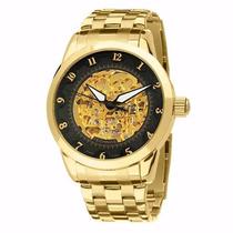Relógio Technos Automático 8n24ac/4p Classic Dourado