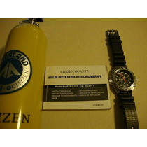 Relogio Citizen Aqualand Promaster Ay5000 Serie Prata Novo